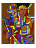 Woman in Color Giclee Print by Diana Ong