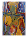 Seated Nude Giclee Print by Diana Ong