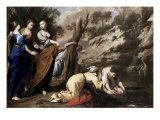 Finding of Moses Premium Giclee Print by Bernardo Cavallino