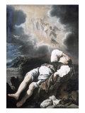 Jacob's Dream Giclée-tryk af Domenico Fetti