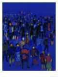 Crowd Giclee Print by Diana Ong