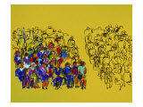 Audience Two Giclee Print by Diana Ong