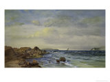 New England Coast Giclee Print by Francis Augustus Silva