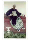 Portrait of a Chinese Gentleman Giclee Print by George Chinnery