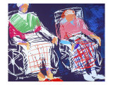 Wheelchair Giclee Print by Diana Ong