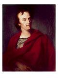 Portrait of Young Schiller Giclee Print by Johann Heinrich Wilhelm Tischbein