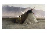 Fisherman's Hut, Siberia Giclee Print by Robert Swain Gifford