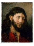 Head of Christ Giclee Print by  Rembrandt van Rijn