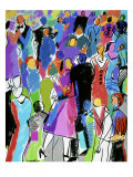Two-Stepping Giclee Print by Diana Ong