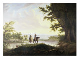 Lewis and Clark Expedition Giclee Print by Thomas Mickell Burnham