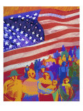 America Giclee Print by Diana Ong