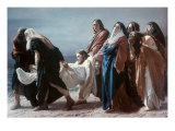 The Deposition of Christ Reproduction procédé giclée par Antonio Ciseri