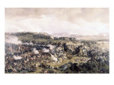 Battle of Waterloo Giclee Print by Felix Philippoteaux