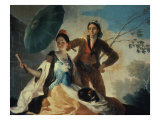 The Parasol Giclee Print by Francisco de Goya