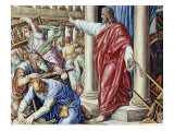 Jesus Drives Them Out of the Temple Giclee Print by Julius Schnorr von Carolsfeld