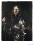 Portrait of an Armored Warrior Giclée-Druck von Sir Anthony Van Dyck