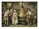 The Bell's First Note Giclee Print by Jean Leon Gerome Ferris
