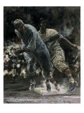 Baseball Giclee Print by Lance Richbourg