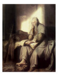 Saint Paul in Prison Giclee Print by  Rembrandt van Rijn