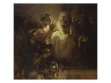 Denial of St. Peter Giclee Print by  Rembrandt van Rijn