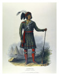 Osceola (Seminole) Giclee Print by Charles Bird King