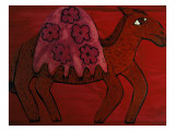 Camel Giclee Print by Leslie Xuereb