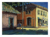 Puerto Vallarta Street Scene Giclee Print by Patti Mollica