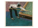 Pool Player Giclee Print by Patti Mollica