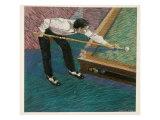 Pool Player Giclee Print by Patti Mollica