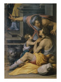 Presentation of Mary to the Temple Giclee Print by Camillo Procaccini