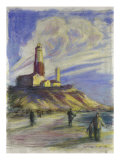 Montauk Point Giclee Print by Patti Mollica