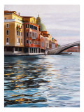 A Canal in Venice Giclee Print by Helen J. Vaughn