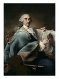 Portrait of a Musician Giclee Print by Alessandro Longhi