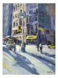 West 17th Street, New York City Giclee Print by Patti Mollica