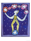 Juggler Giclee Print by Leslie Xuereb