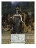 Minerva Giclee Print by Pierre Charles Simart