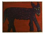 Loups Reproduction procédé giclée par Leslie Xuereb
