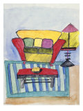 Interior Giclee Print by Arnold Rice