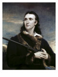 Portrait of John James Audubon Giclee Print by John Syme