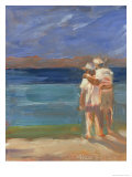 Sunset Couple Giclee Print by Patti Mollica