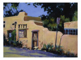 Pueblo in New Mexico Premium Giclee Print by Patti Mollica