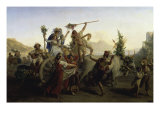 Celebration of the Return of the Madame of Arc Giclee Print by Louis-léopold Robert