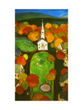 New England Green Giclee Print by John Newcomb