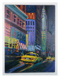 Racing Cabs Giclee Print by Patti Mollica