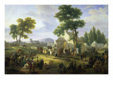 Siege of Paris by Henry IV Giclee Print by Guillaume Frederic Ronmy