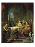 Anthony and Cleopatra Reproduction procédé giclée par Gerard De Lairesse