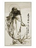 Zen Master, Damo Giclee Print by Lee Deng Sheng