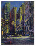 51st and Madison, New York City Giclee Print by Patti Mollica