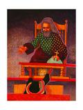 Talking with God (2), Guatemala Giclee Print by John Newcomb