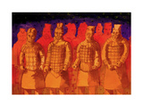China Terracotta Army- Xian Giclee Print by John Newcomb